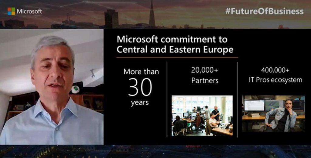 Microsoft rozwój