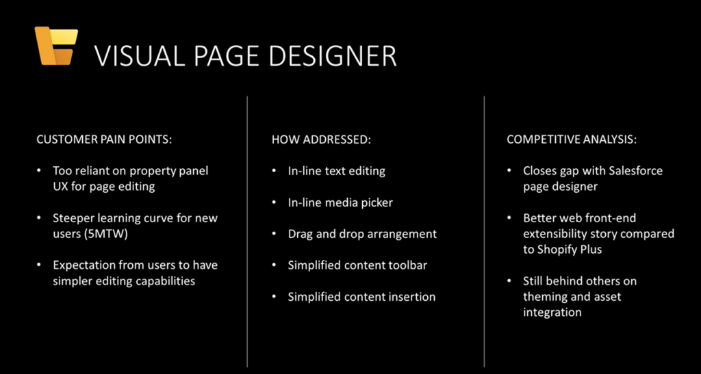 Dynamics 365 Page designer