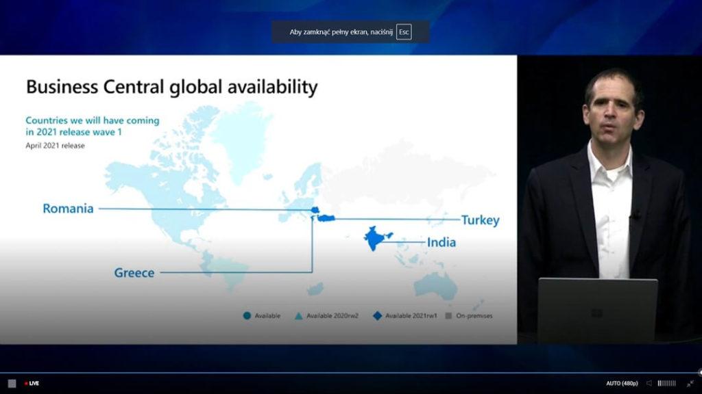 Business Central nowe lokalizacje w Europie