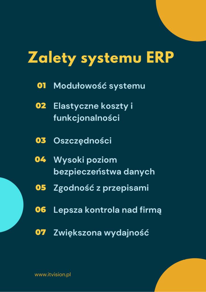 Zalety i wady systemu ERP