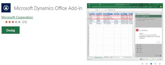 Integracja Microsoft Excel z Dynamics Business Central 365
